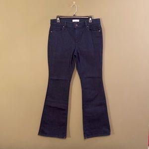Ann Taylor Loft NWOT flare denim jeans 31/12P